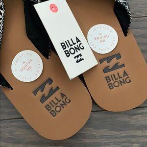 NWT Billabong sandals